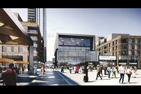 Sheppard Robson's Chrisp Street proposals